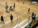 體育精神的展現:兩組女子之間的羽毛球比賽 20130309