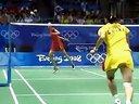 2008年北京奥运羽毛球比赛 女单决赛 张宁VS谢杏芳 标清