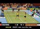 2013日本羽毛球公开赛 男双比赛视频 柴飚/洪炜 -  羽球吧
