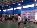 2013北碚台农园杯业余羽毛球赛鄢迅,朱洁VS成平,荷花