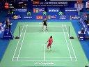 2013年广州世界羽毛球锦标赛男单四分之一决赛 林丹VS谌龙
