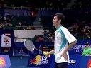 2013年世界羽毛球锦标赛男单四分之一决赛 阮天明VS约根森