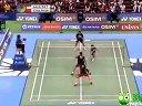 2013日本羽毛球公开赛 决赛 男双比赛 洪炜/柴彪 羽球吧