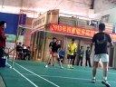 西樵镇首届3打3羽毛球比赛 决赛