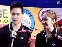 20131122東張西望 香港羽毛球公開賽訪問(張楠趙芸蕾+于洋王曉理)