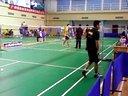 全国大学生羽毛球比赛西农大 鲁天雄 王志泓vs人大钟鸿斌 陈豪俊1