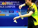 羽毛球知识教学网 彼德森茱尔VS于洋王晓理 2013羽联总决赛四分之一决赛