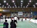 王文筱/罗彩VS胡蕾/陆莎 女双 2013精彩羽共羽毛球团体赛
