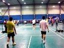 2014年1月16日大本营羽毛球会让分赛