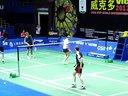 德国队训练 上海羽毛球大师群拍摄