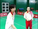 陈伟华羽毛球教学羽毛球教程全集18-前勾对角球