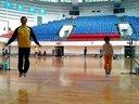 羽毛球训练课之后的体能训练之双飞跳绳