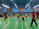 20140420红牛杯廊坊站羽毛球赛东英组合对石油矿区混双第一局