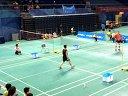 2014年北京羽毛球高校赛甲A男团决赛宋宗耀VS杨霖飞 第二局
