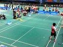2014年北京羽毛球高校赛女单决赛刘秋丽VS徐菲聆 第三局
