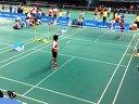 2014年北京羽毛球高校赛女单决赛刘秋丽VS徐菲聆 第二局