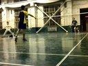 中北大学羽毛球单打视频