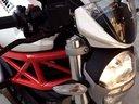 2009款珍珠白杜卡迪Monster 696国内车行实地实车视频