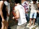 2014-08-03崇州曼陀螺网吧QQ飞车全明争霸赛大转盘视频