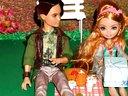 芭比娃娃婚纱新娘:芭比娃娃的奇妙约会 芭比娃娃动画片全部动漫版