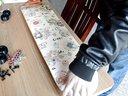 anyway skateboards 装板 组装滑板 装轴承 装轮子 贴砂纸 皮皮滑板