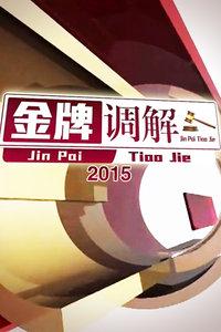 金牌调解2015
