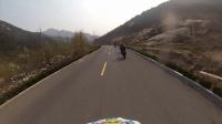 山东临沂蒙阴KTM 690 SMC 跑山压弯