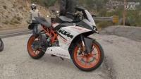 入门级运动摩托车对比测评 第2名 2015 KTM RC390