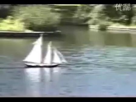 遥控帆船模型