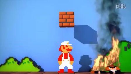 如果《超级玛丽》是现在开发的游戏,就应该是这样的