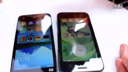 小米手机2代与1代升级版M1S对比及试玩(2视频)