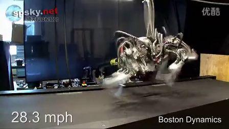 时速28.3英里 猎豹机器人速度超飞人博尔特