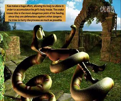 蟒蛇吞吃美女现场视频