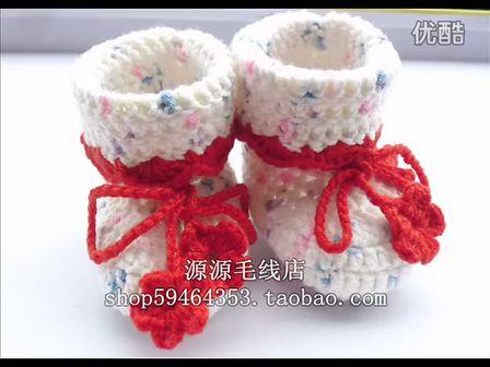 婴儿袜子钩法图解步骤