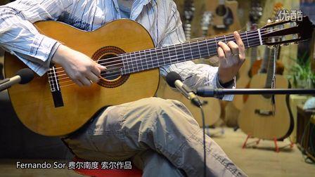 Etude 月光 Fernando Sor 索尔 古典吉他作品 马丁尼80C演奏