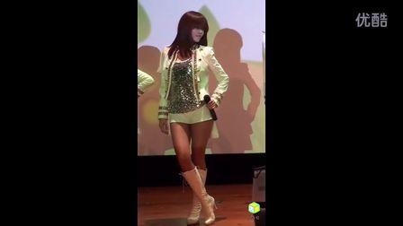 韩国主播T-ara -为你疯狂(孝敏)热舞110503