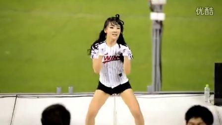韩国美女拉拉队热舞 - Bad girl 130508