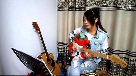 电吉他独奏 电吉他独奏海阔天空 好想大声说爱你电吉他独奏