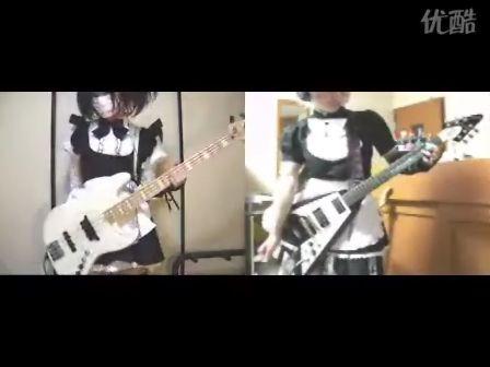 シャーベルとティッシュ姫で「純白サンクチュアリィ」贝斯 吉他