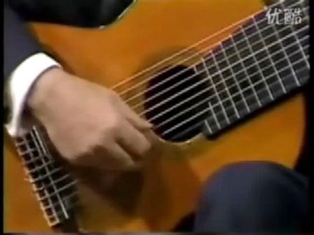爱的罗曼史吉他谱 图片谱,独奏 Narciso Yepes