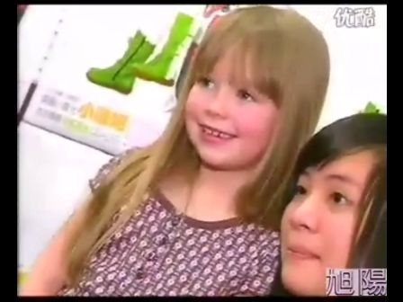 6岁童星小康妮台湾举行歌迷见面会清唱纷丝疯狂