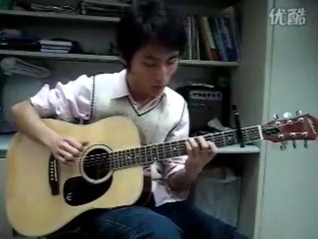 靠谱吉他视频 黄家伟《回程》 指弹吉他 蔡宁