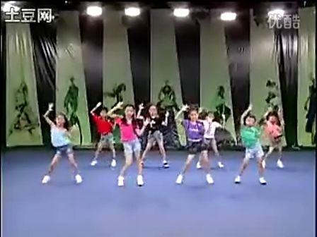 儿童舞蹈健康歌分解动作