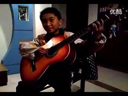 吉他 小星星
