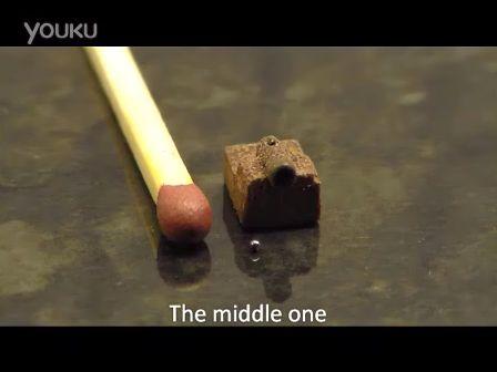 大开眼界!牛人自制世界上最小的大炮