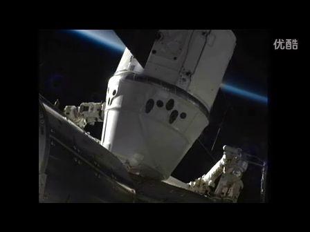 "NASA 商用飞船二号""龙""对接国际空间站全过程"