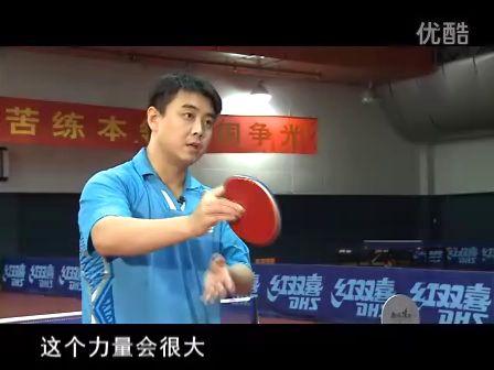 皓令天下王皓乒乓球教学4拧拉