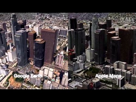 完胜?iOS6之3D对比谷歌3D地图