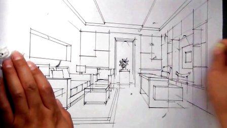 郑州手绘培训绘聚中国——秦瑞虎室内快题设计五