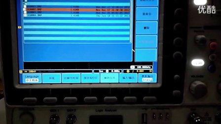 固纬电子数字存储示波器GDS-2000A图片预览功能